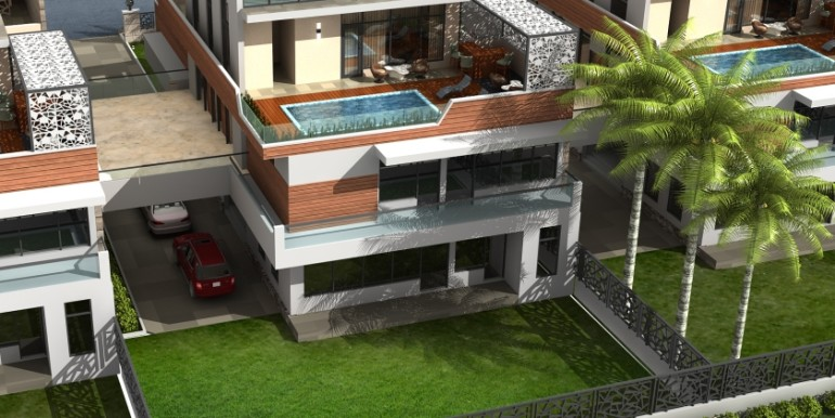 NOIDA WORLD ONE : Bungalow view