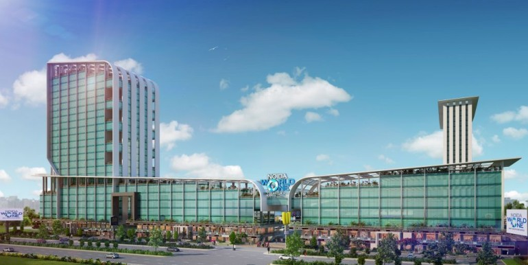 NOIDA WORLD ONE : Project Exterior Views