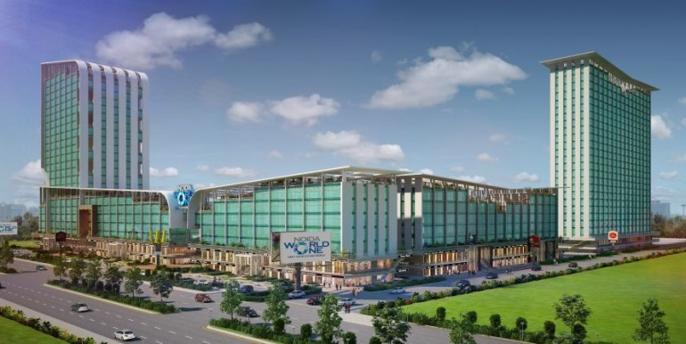 NOIDA WORLD ONE : Project Exterior View