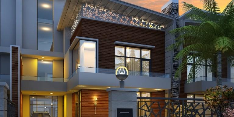 NOIDA WORLD ONE :Villa
