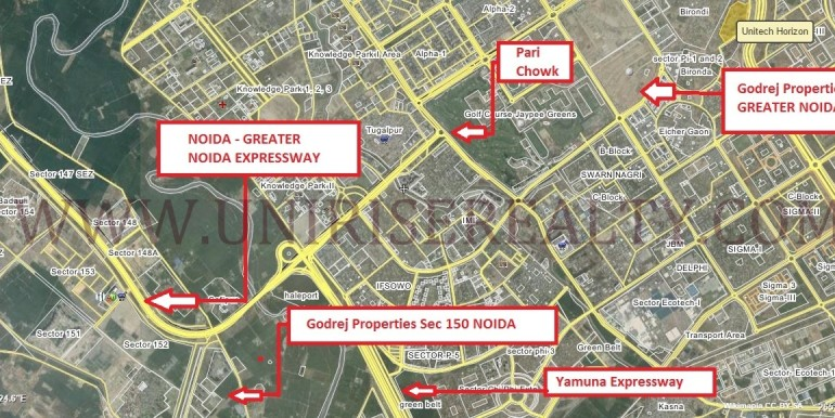 godrej-properties-greater-noida-location-map